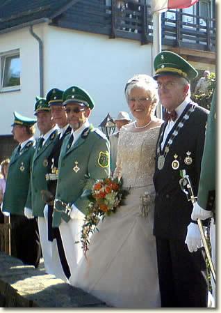 amtierendes Stadtschützenkönigspaar 2006-2009: Karl und Anita Fillinger