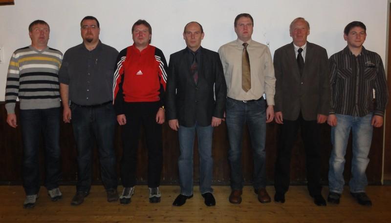 Neuer Geschäftsführender Vorstand 2011
