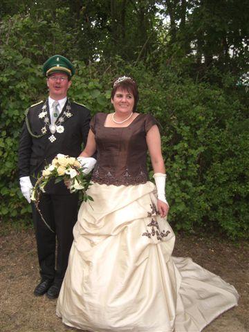 amtierendes Königspaar 2010 - 2011 Michael und Meta Bleich