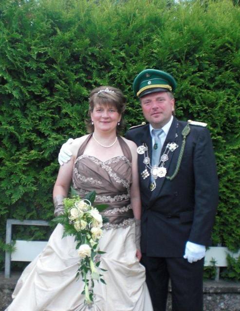 Königspaar 2012 - 2013 in Liesen: Karl-Heinz und Anne Dollberg