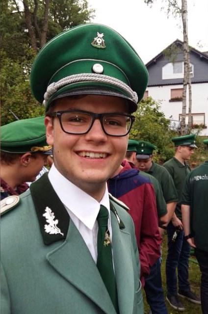 Jan Schneider - Amtierender Jungschützenkönig 2016-2017 in Liesen