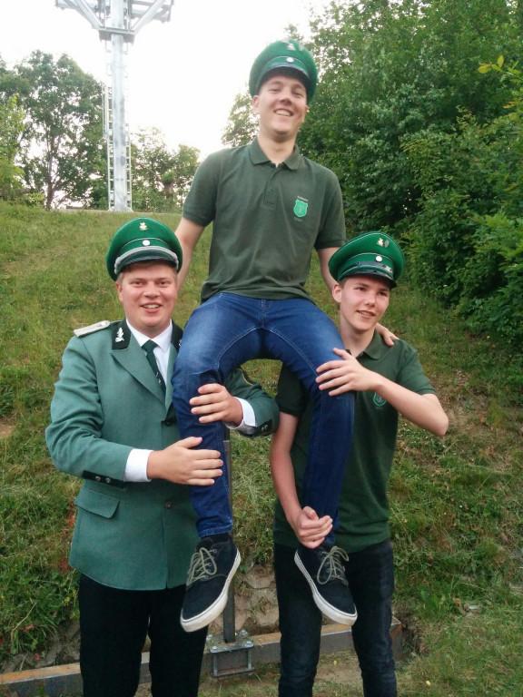 Kevin Dollberg - Amtierender Jungschützenkönig 2018-2019 in Liesen
